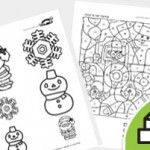 WINTER Printable educational games