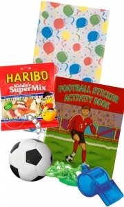 Football Activity Pre-filled Party Bag from www.easykid.co.uk