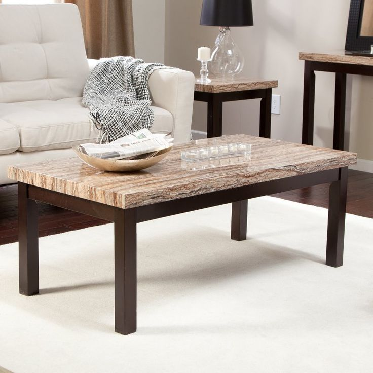 Carmine Faux Marble Coffee Table - WSC188-C