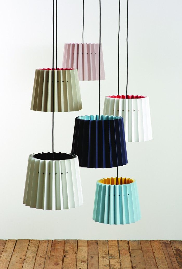 Designer lights staged