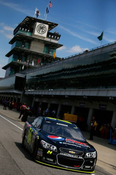 Jeff Gordon - Indianapolis Motor Speedway: Day 2