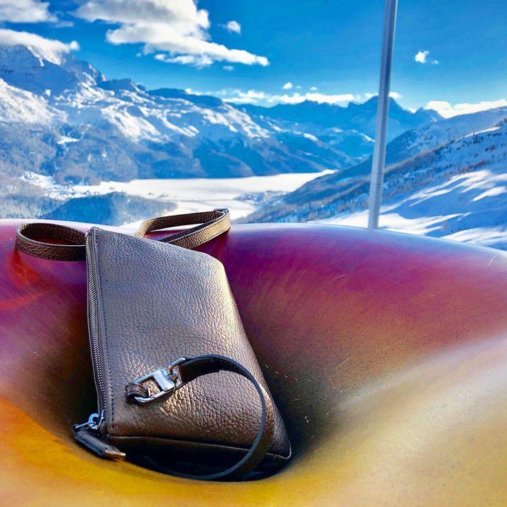 El Paradiso Hütte in St.Moritz. Der Nabel der Welt...