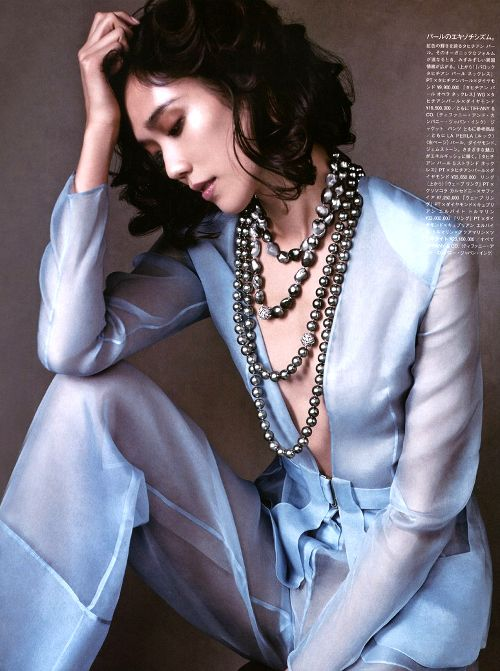 she-loves-fashion: Tao Okamoto Vogue Japan July 2015
