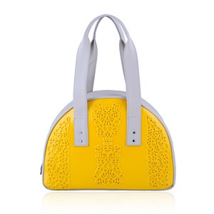 Whale Bag Yellow Beige now featured on Fab.  by MeDusa