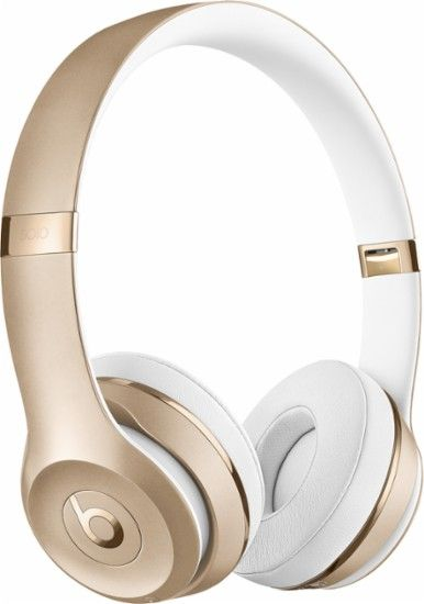 Beats by Dr. Dre - Beats Solo3 Wireless Headphones - Gold - Angle Zoom