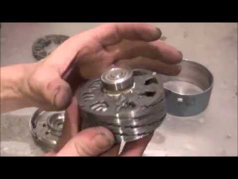 """Tesla Turbine, """"How To Make Your Own Tesla Turbine"""" for Hydroelectric, Steam, or Wind. - YouTube"""