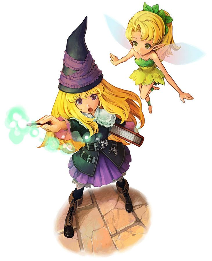 Lillet Blan & Fairy from GrimGrimoire