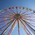 Volksfest Frühlingsfest München Riesenrad