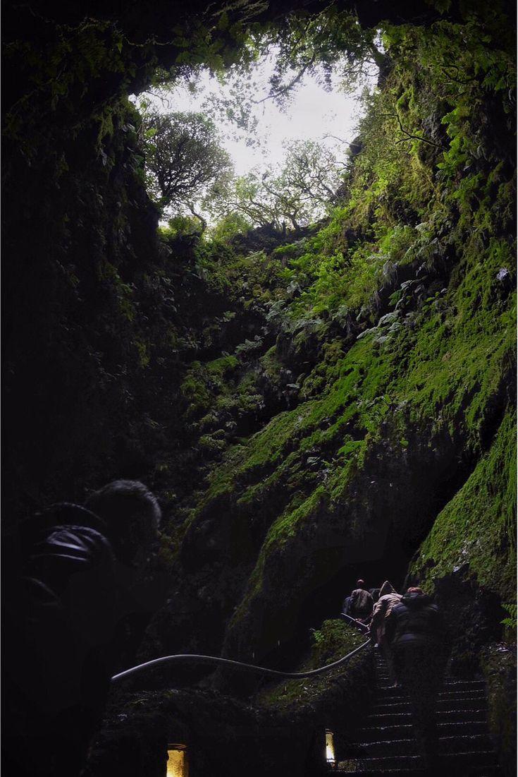 Algar do Carvão, Terceira, Açores. Fotografia: Nuno Ferreira Santos