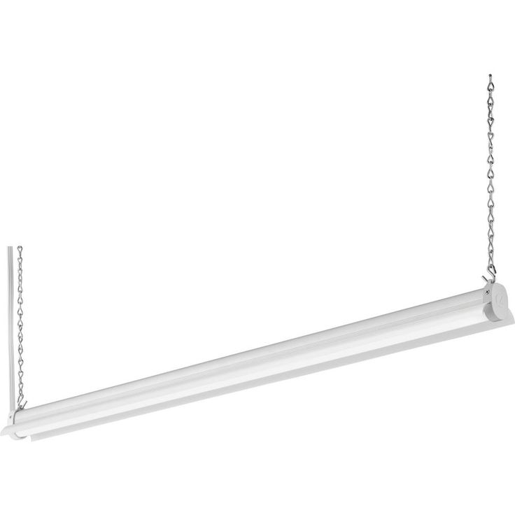 Lithonia Lighting 2.8 ft. 34-Watt White Integrated LED Shop Light