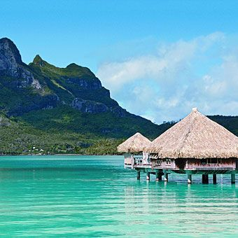 Sexiest Bungalows St. Regis Bora Bora resort, French Polynesia  If the ultimate Tahitian fantasy is an overwater bungalow, (known locally as a fare), then the St. Regis, one of Bora Bora's newest resorts, Doubles from $1,265 (low season); 877-787-3447; stregis.com. —Sherri Eisenberg