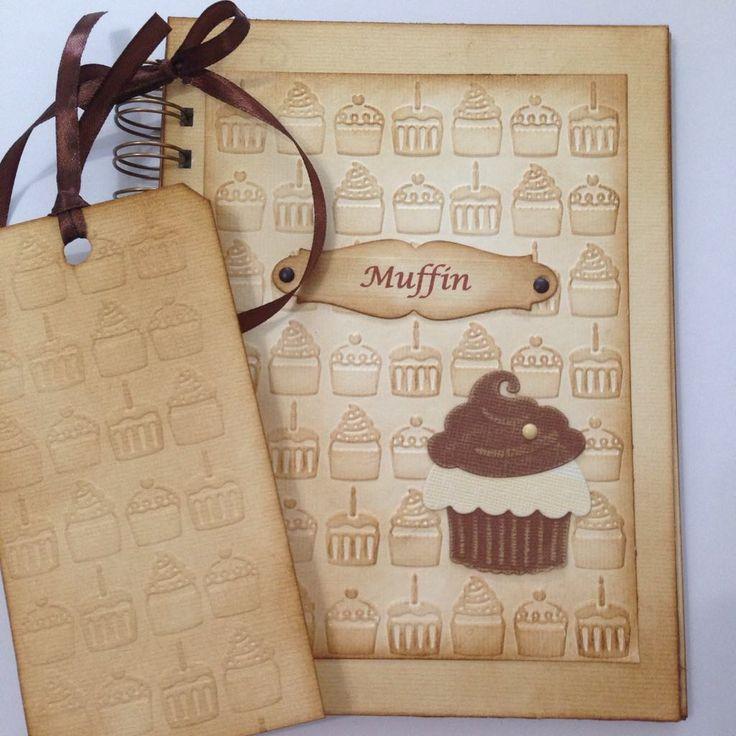 Muffin receptek albuma, ajándékkártyával