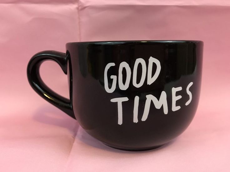 Good Times 16 Oz Black Coffee Mug Cup Soup New Gift | Collectibles, Decorative Collectibles, Mugs, Cups | eBay!