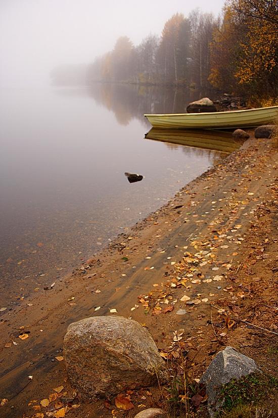 Rovaniemi - Kemijoki in late autumn