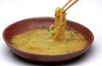 Sopa de Missô com Noodles