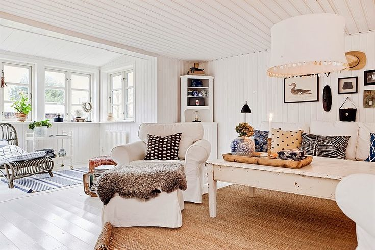 La belleza del blanco en una casa nórdica | Bohemian and Chic