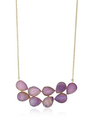65% OFF Saachi Agate Cluster Necklace