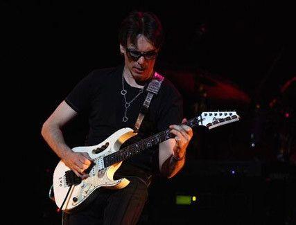 Guitar virtuoso Steve Vai.  #music #guitar #rock #concert