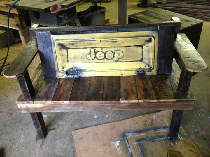 Custom Jeep Tailgate Bench For Sale 600 Diy Projects