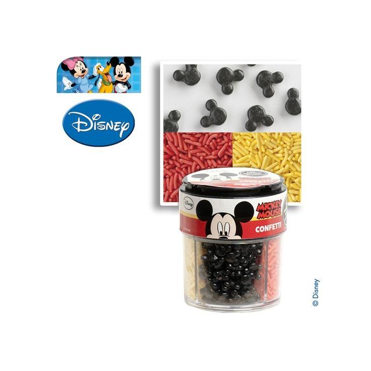 Disney Mickey Mouse suiker strooi decoratie 100 gr.