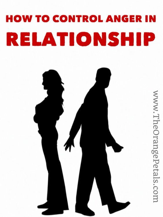 how to control anger and irritation in a relationship