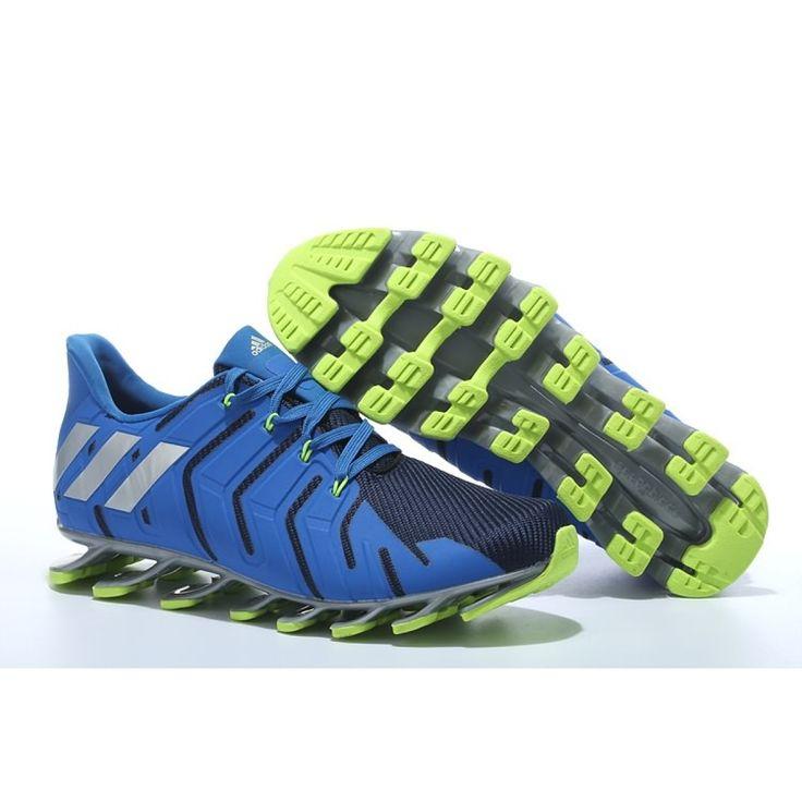 newest 94165 e6d7b ... Adidas Springblade Pro Scarpa da Running - Uomini - BluVerde ...