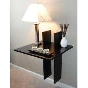 8 best images about contempory ideas on pinterest wall for Wall shelf nightstand