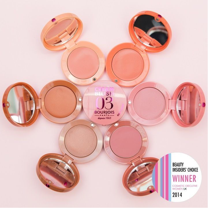 Bourjois Cream Blush | CEW Beauty Awards 2014 | Best new make-up product for face/mass