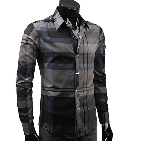 Mixed plaid shirt dapper guys and clothes pinterest for Mixed plaid shirt mens