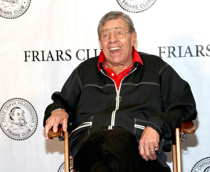 Celebripost: L'attore, comico e sceneggiatore Jerry Lewis (88) a una festa per il 50 esimo anniversario del film Il professore matto, da lui scritto e prodotto, a New York - Il Post
