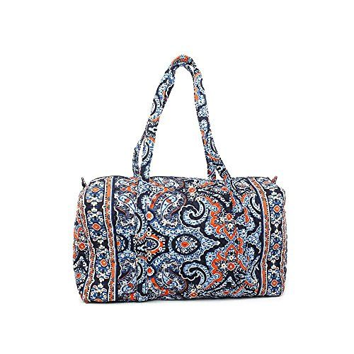 awesome Vera Bradley Luggage Women's Large Duffel Marrakesh Duffel Bag Check more at http://amazonshopings.com/amazon-shopping/luggage-and-travel-gear-amazon/vera-bradley-luggage-womens-large-duffel-marrakesh-duffel-bag/