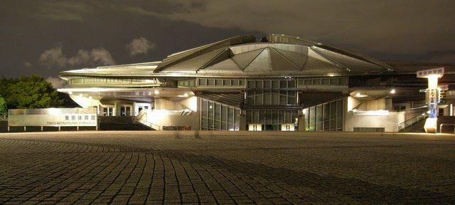 Architecture of Japanese architect Fumihiko Maki: Tokyo Metropolitan Gymnasium, 1990