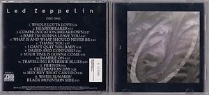 a led zeppelin box set by led zeppelin cd oct 1990 4 discs atlantic no box