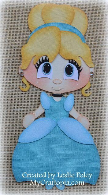 Disney princesa Cenicienta Premade Scrapbooking por MyCraftopia