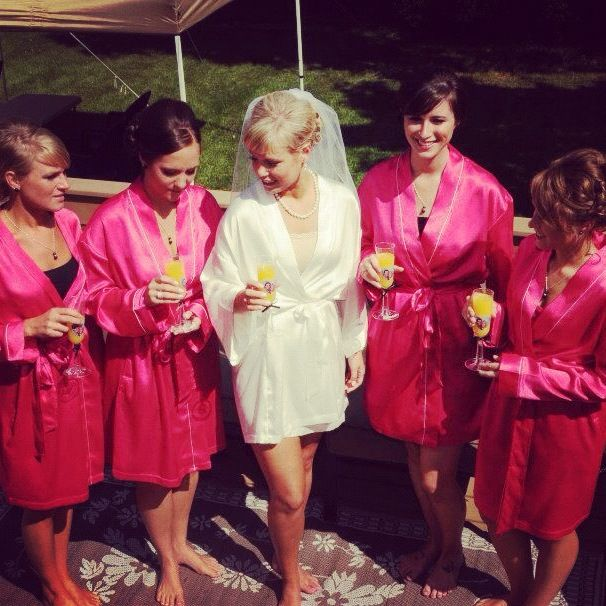 customized robes = great bridesmaids gifts!