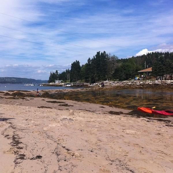 Beach in Glen Haven, NS