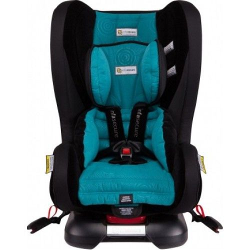InfaSecure Kompressor Caprice Non ISOfix - Options: Black, Aqua, Grey, Purple, Pink, Orange $349.00 online at www.smittysbabygeargalore.com or in store.