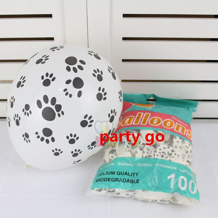 Cheap balloon shop, Buy Quality balloon effects directly from China toy mannequin Suppliers: Wholesale Free Shipping 3.2g 100pcs/lot Dogs Paws Balloons Bare Footprint /foot Latex Balloons Birthday Party Supplies Kids Toys