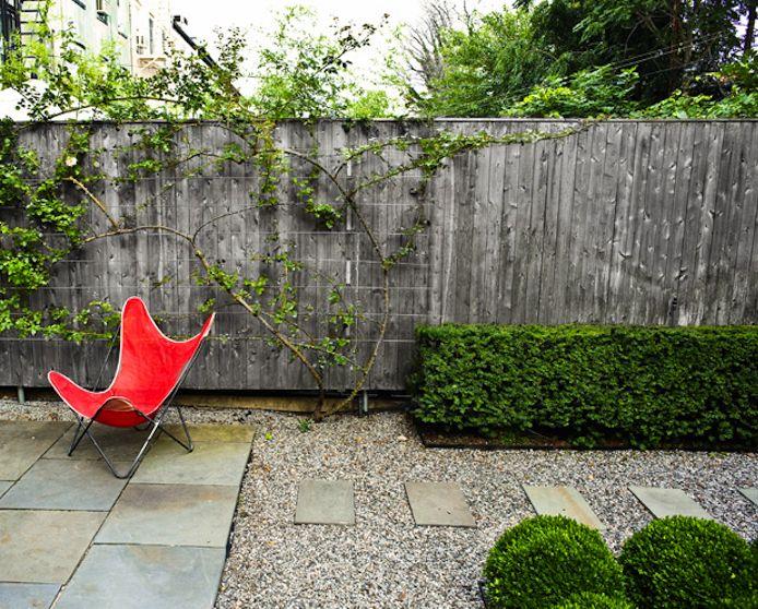 Townhouse Backyard Ideas : crisp & modern lowmaintenance garden design by landscape designer