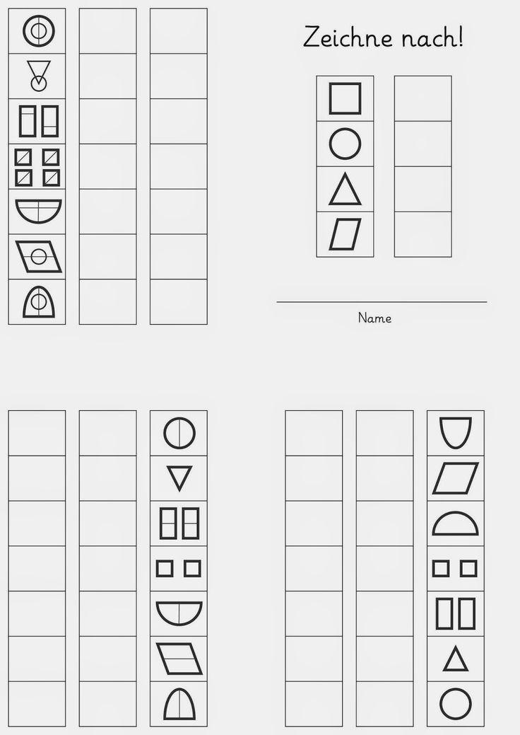 zeichne nach 1 spiele vorschule bungen vorschule und f rderschule. Black Bedroom Furniture Sets. Home Design Ideas