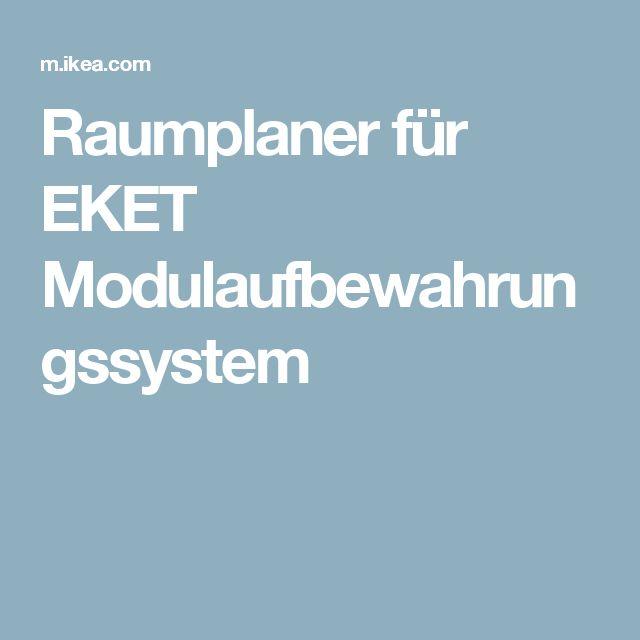 Perfect Raumplaner f r EKET Modulaufbewahrungssystem MJ