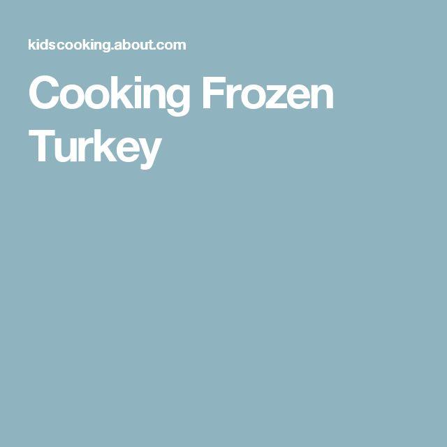 Cooking Frozen Turkey