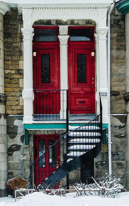 Red Doors - Montreal