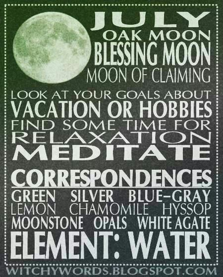 ☽✪☾...July moon