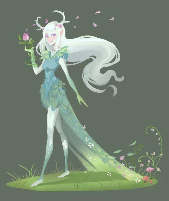 Julia Blattman - AquaJ The Art Of Animation. Forest sprite
