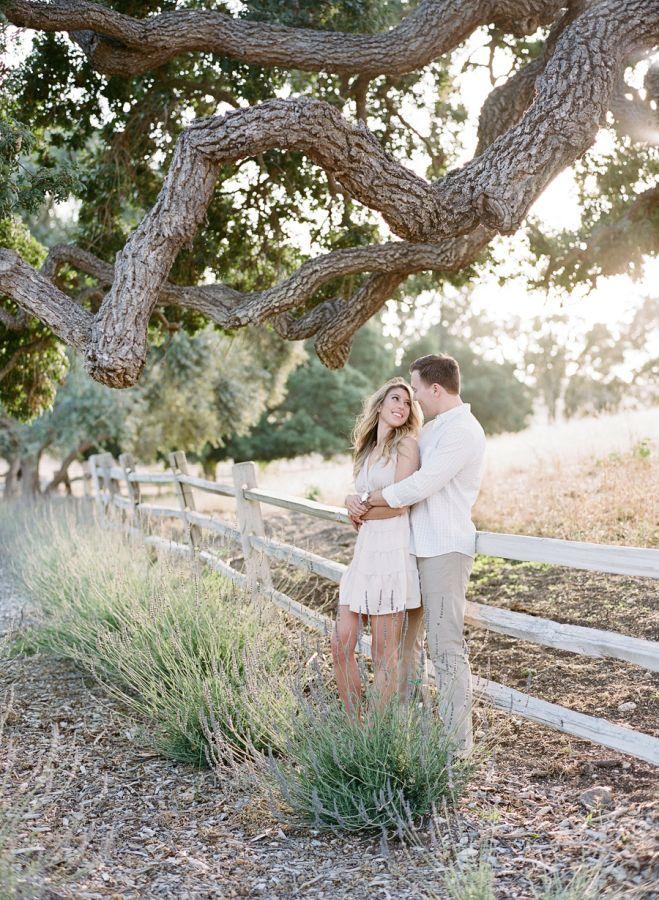 Gorgeous engagement shoot at Los Olivos Ranch: http://www.stylemepretty.com/2016/10/10/los-olivos-ranch-engagement/ Photography: Joel Serrato - http://joelserrato.com/