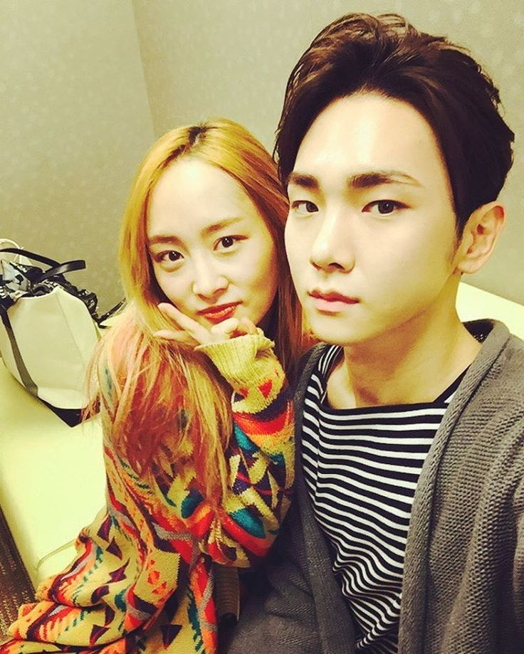 Nicole jung and Key shinee