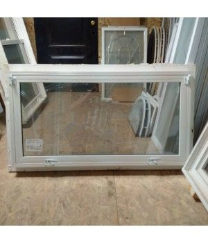 """44"""" x 23 3/8"""" Selera Hopper  2"""" Reno Brickmould  No Jamb Extension. Total depth 2-7/8""""  Dual Pane Sungate 500 LowE with Argon  Can be shipped within 1 - 2 business days"""