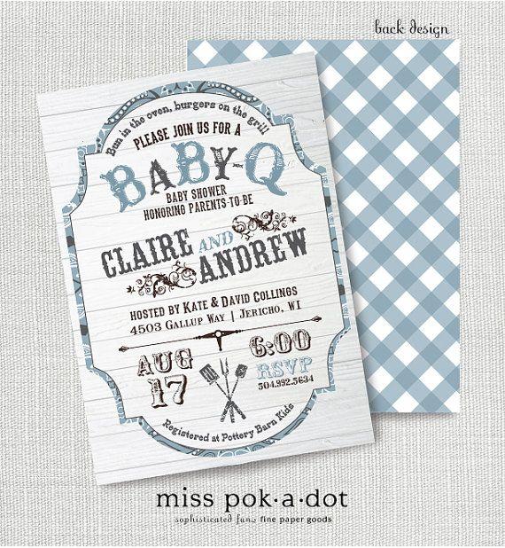 babyq invitations