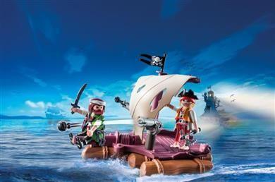 Playmobil Πειρατική Σχεδία (6682) 14,99